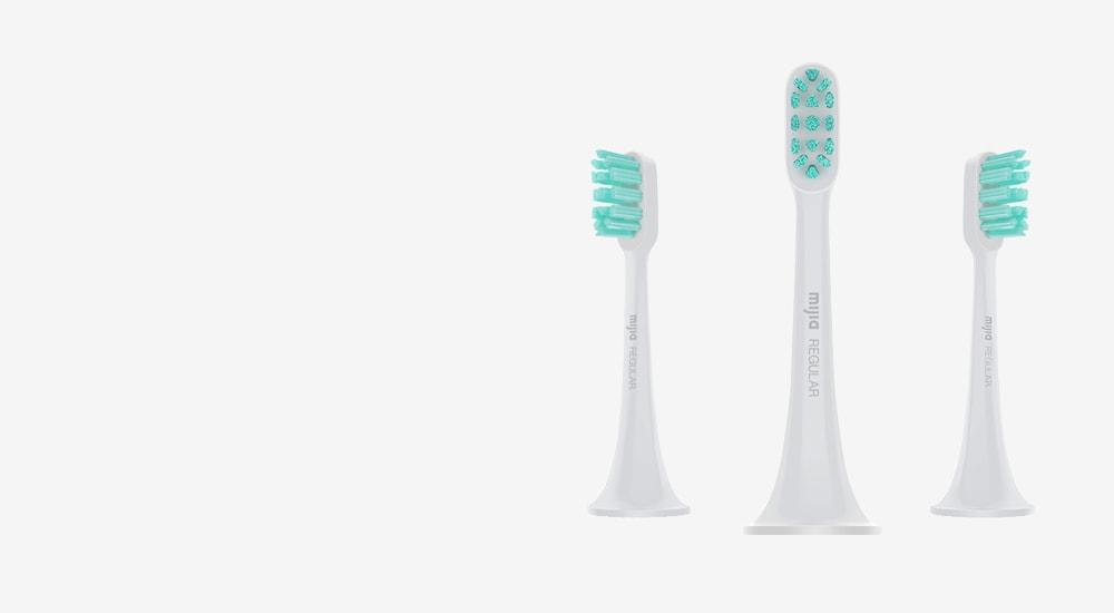 Сменные насадки для зубной щетки Xiaomi SmartSonic ElectricToothbrush (3ш Regular) (DDYST01SKS)