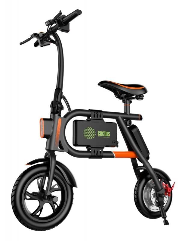 Электровелосипед Cactus CS-EBIKE-P1_BK 4400mAh, черный