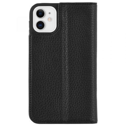 Чехол-книжка Case-Mate Wallet Folio для iPhone 11. Цвет черный.