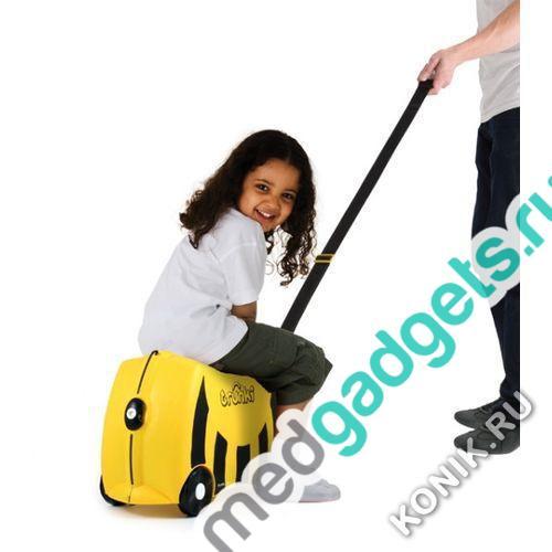 Детский чемодан на колесах Пчела Trunki