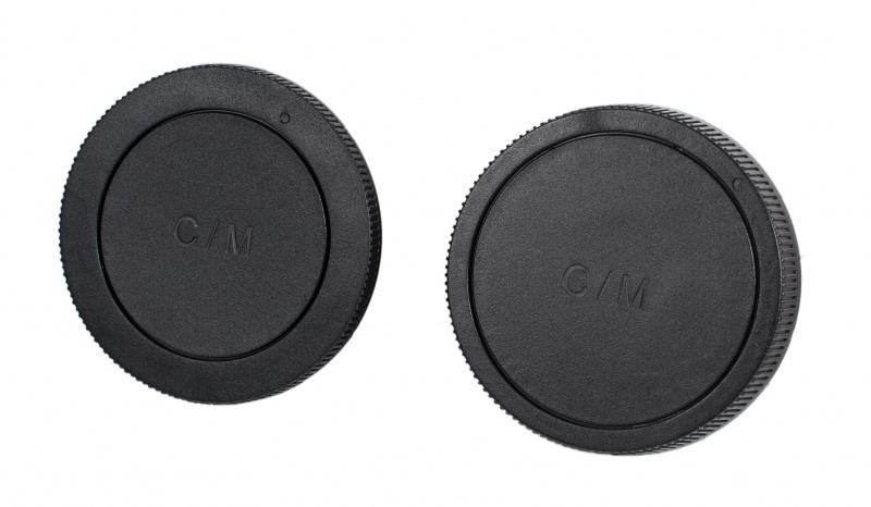 Крышка JJC LR15 для обьектива задняя + крышка байонета камеры CANON EOS M