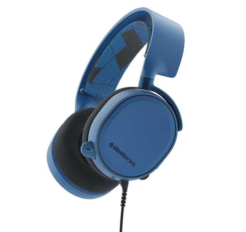 Гарнитура Steelseries Arctis 3 мониторы 3м (61436) синий