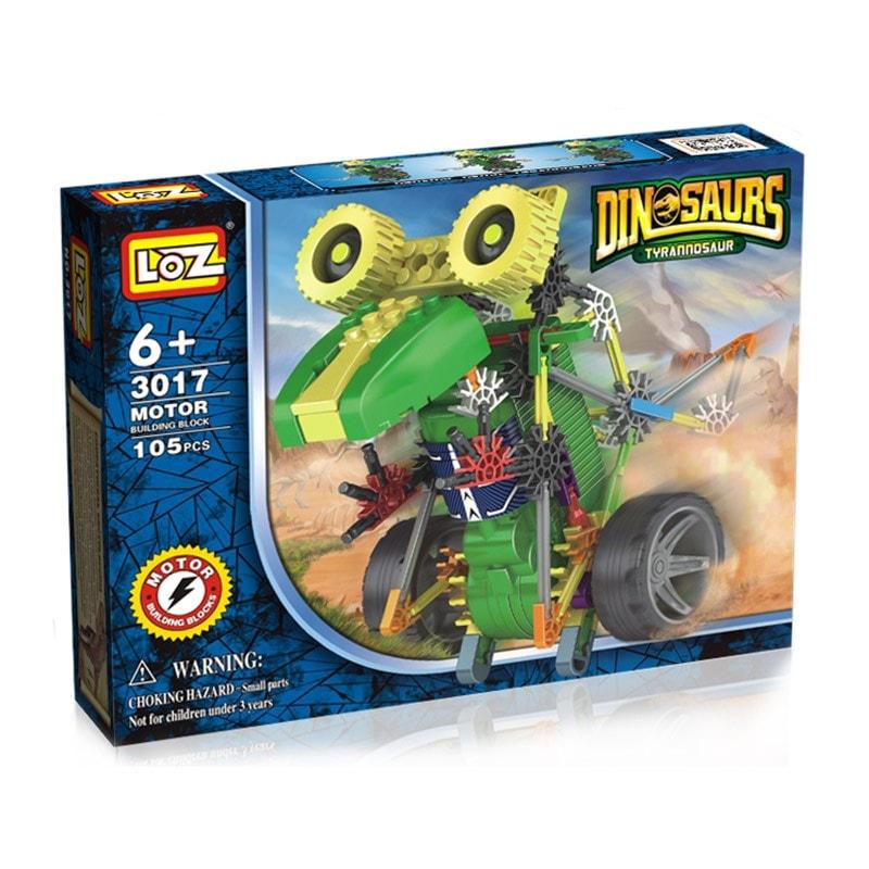 Конструктор-робот «Тиранозавр», арт.3017, 105 деталей