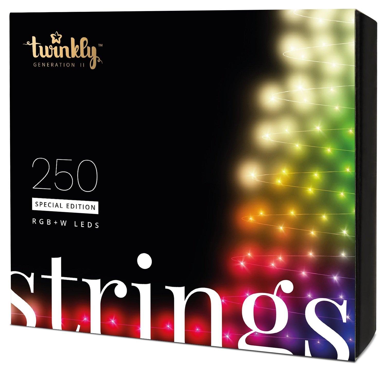 Smart-гирлянда Twinkly Strings RGBW 250 (TWS250SPP-BEU)