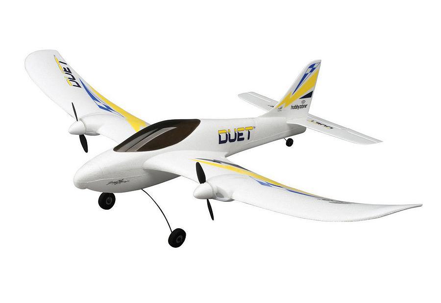 HobbyZone Радиоуправляемый Самолет - Duet 550мм RTF
