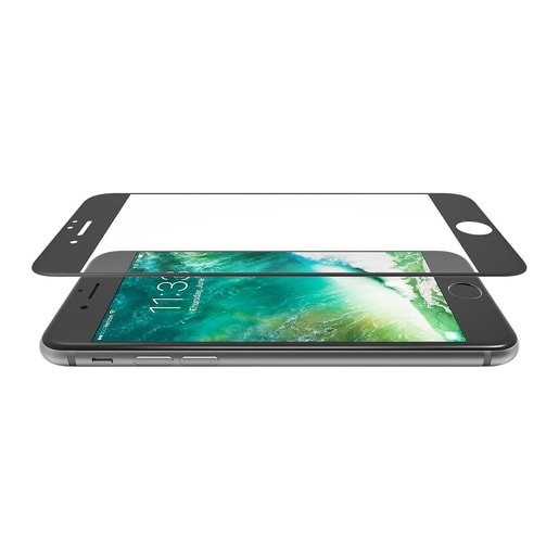 Lab.C 3D Diamond Glass для iPhone 7. Цвет черный.