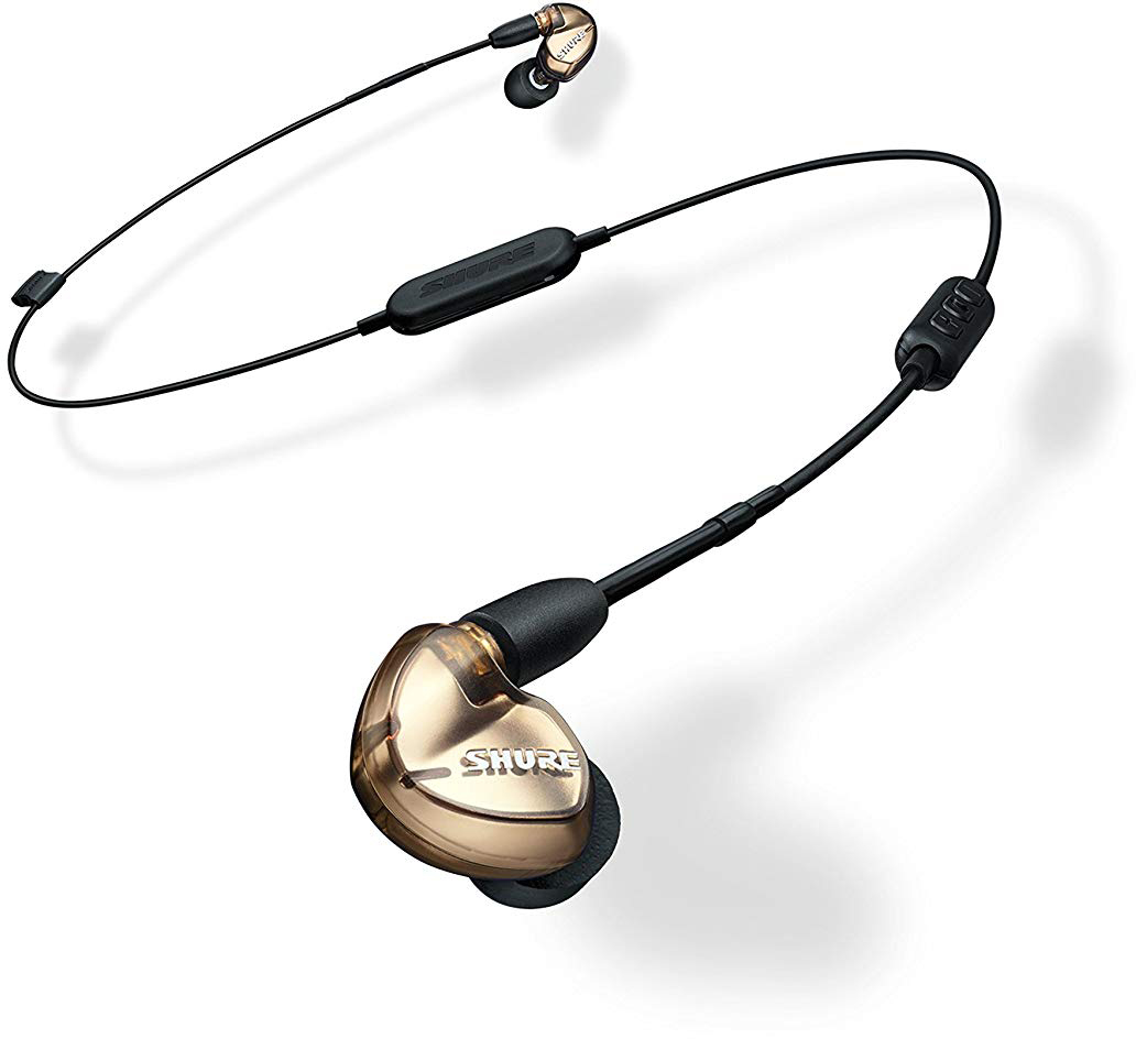 Bluetooth-наушники с микрофоном Shure SE535-V+BT1 (Bronze)