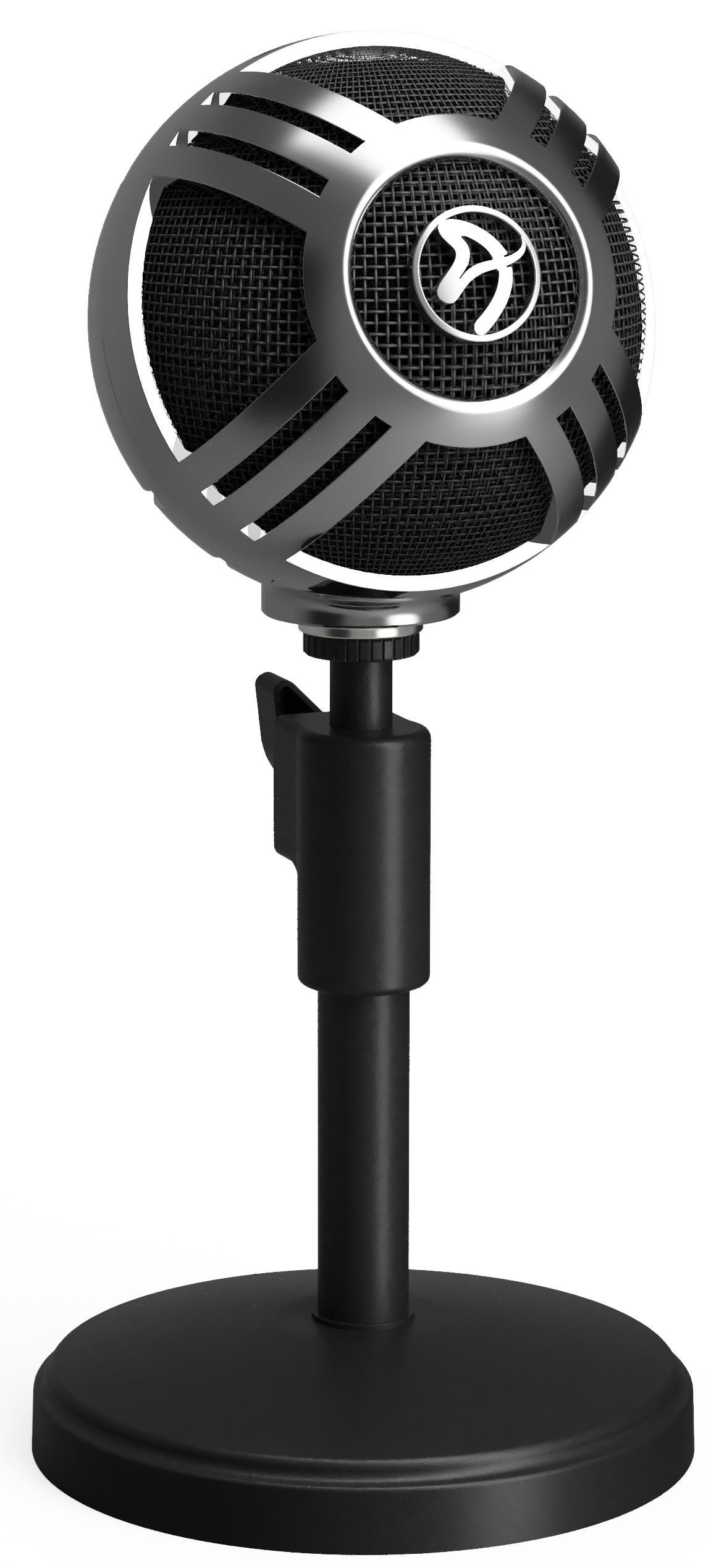 Цифровой микрофон Arozzi Sfera (Chrome)