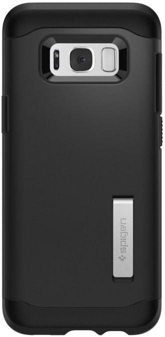 Spigen Slim Armor (571CS21122) - чехол-накладка для Samsung Galaxy S8 Plus (Black)