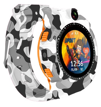 Часы-телефон с GPS Кнопка жизни Aimoto Sport (Camo)