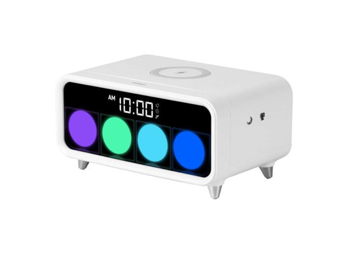 Будильник с беспроводной зарядкой Rombica Timebox 2