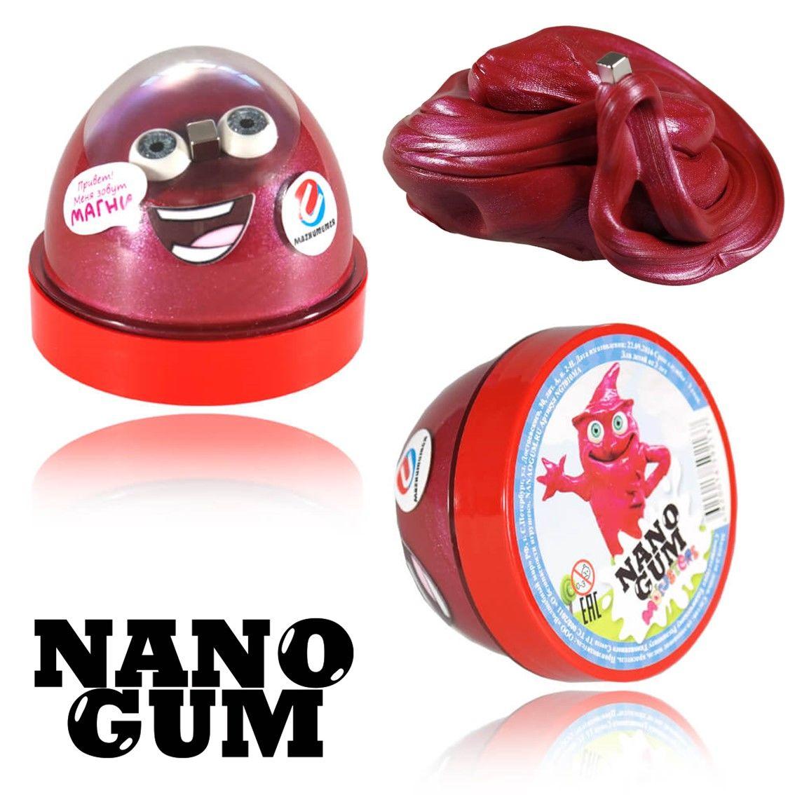 Жвачка для рук Nano gum Магни 50 гр