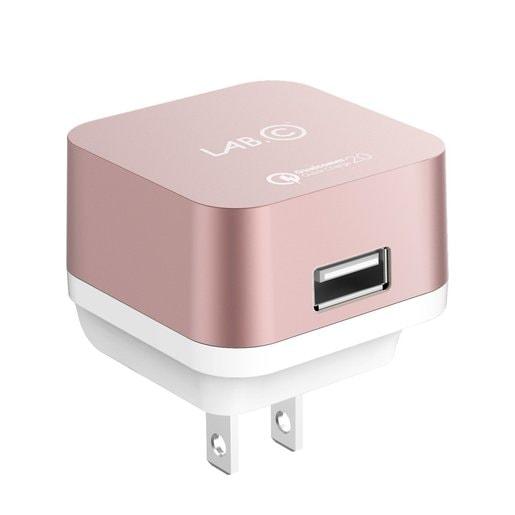 Зарядное устройство LAB.C X1. Цвет розовое золото.