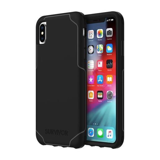 Чехол защитный Griffin Survivor Strong для iPhone XS Max. Материал пластик. Цвет черный.