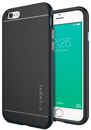 Spigen Neo Hybrid Series (SGP11619) - чехол для iPhone 6/6S (Metal Slate)