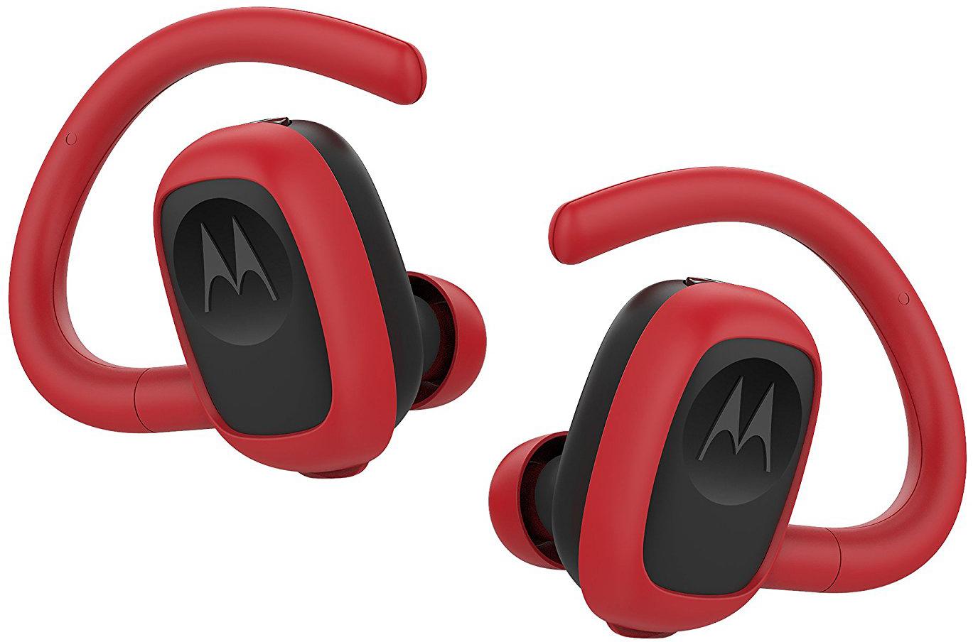 Bluetooth-наушники Motorola Stream Sport с микрофоном (Red)