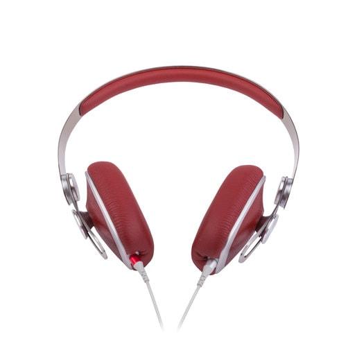 Накладные проводные наушники Moshi Avanti. Цвет красный.