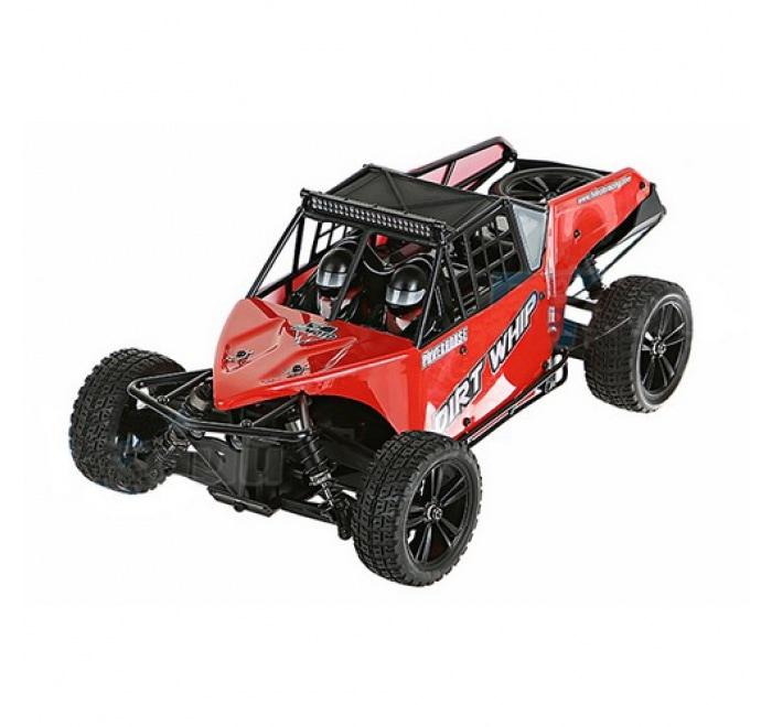 Iron Track Радиоуправляемая машина Багги 1/10 4WD Электро - Iron Track Desert Buggy RTR, Влагозащита, Аккумулятор, З/У