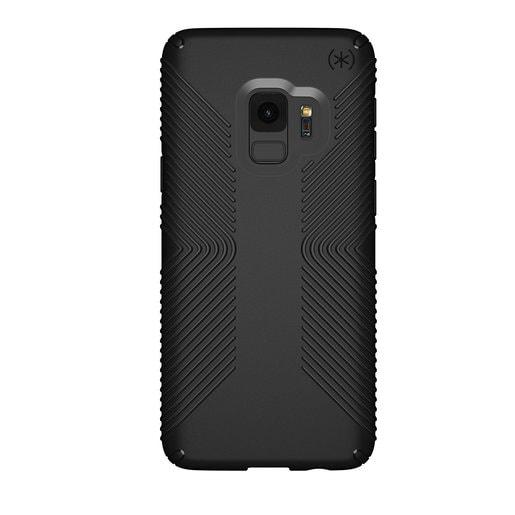 Чехол Speck Presidio Grip для Samsung Galaxy S9. Материал пластик. Цвет: черный/черный.