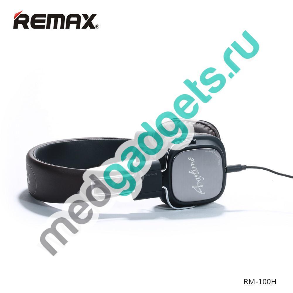 Наушники REMAX RM-100H (коричневый)