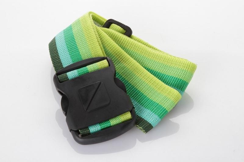 """Ремень для багажа Travel Blue Luggage Strap 2"""", цвет зеленый"""
