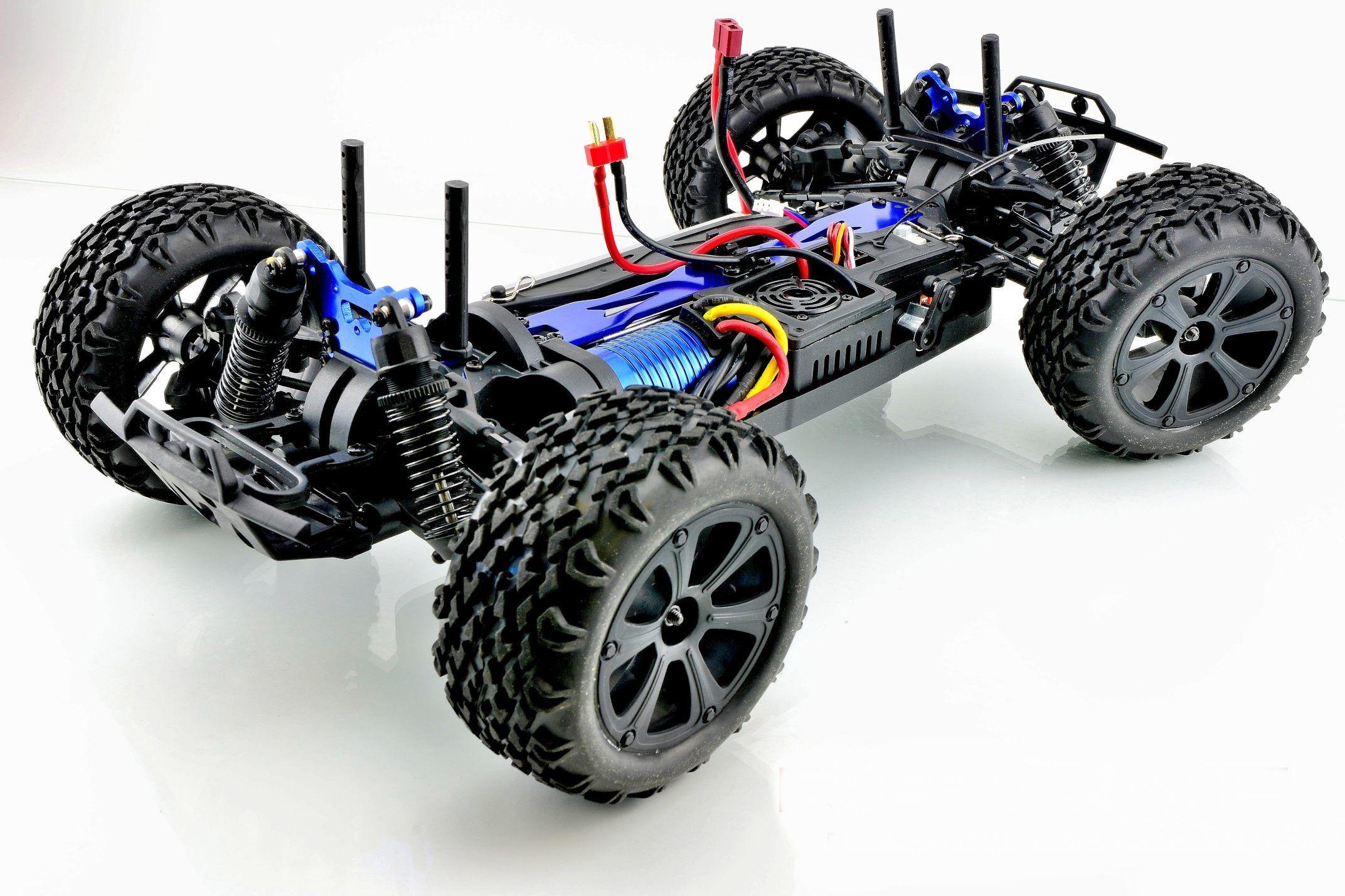 BSD Радиоуправляемая машина Трак 1/10 4WD (Бесколлекторная, 3200мАч, Lipo, 2.4G)