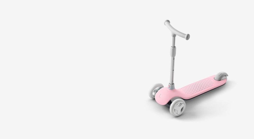 Детский самокат-кикборд Xiaomi Rice Rabbit Scooter (HBC01YM)