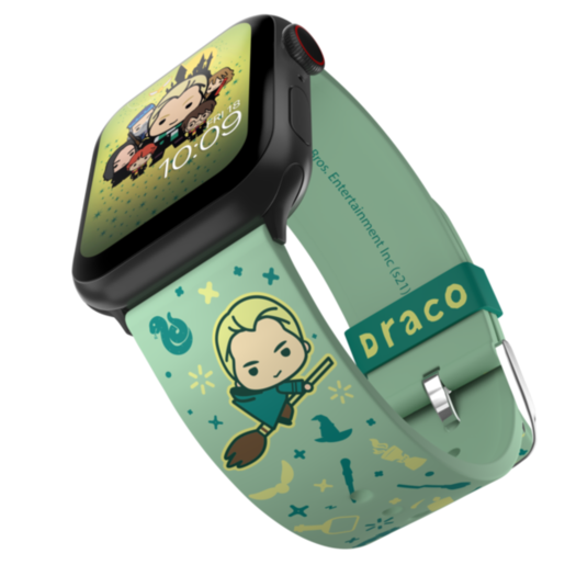 Ремешок MobyFox Harry Potter - Draco Charms Edition, зеленый (для Apple Watch, все размеры)