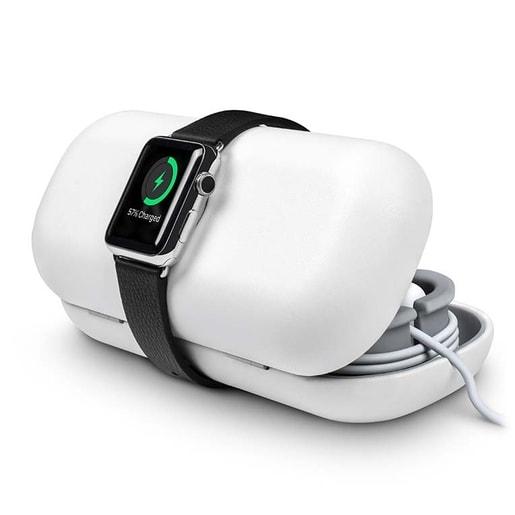 Чехол-футляр Twelve South TimePorter для хранения и переноски часов Apple Watch. Цвет: белый.