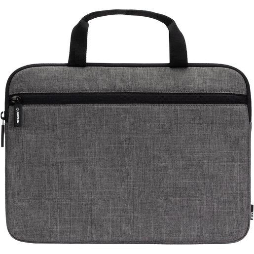 """Сумка Incase Carry Zip Brief для ноутбуков с диагональю 13"""". Материал: полиэстер. Цвет: серый. Incase Carry Zip Brief 13"""" - Graphite"""
