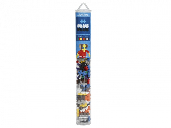 Игрушка-конструктор Plus-Plus Mini 100 Basic