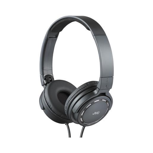 Наушники JVC накладные легкие, модель HA-S520-B-E. Цвет: черный JVC Наушники накладные легкие, модель HA-S520-B-E. Цвет: черный
