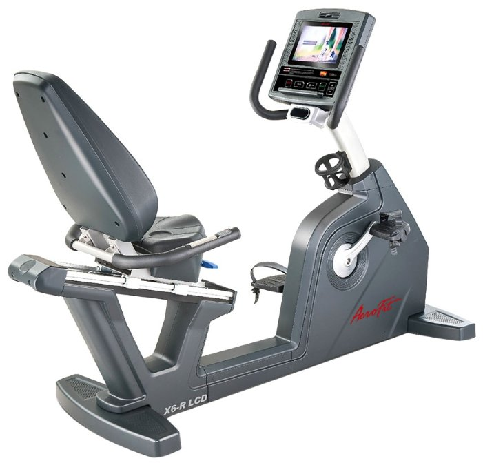 """Горизонтальный велотренажер AeroFit X6-R 10.1""""LCD"""