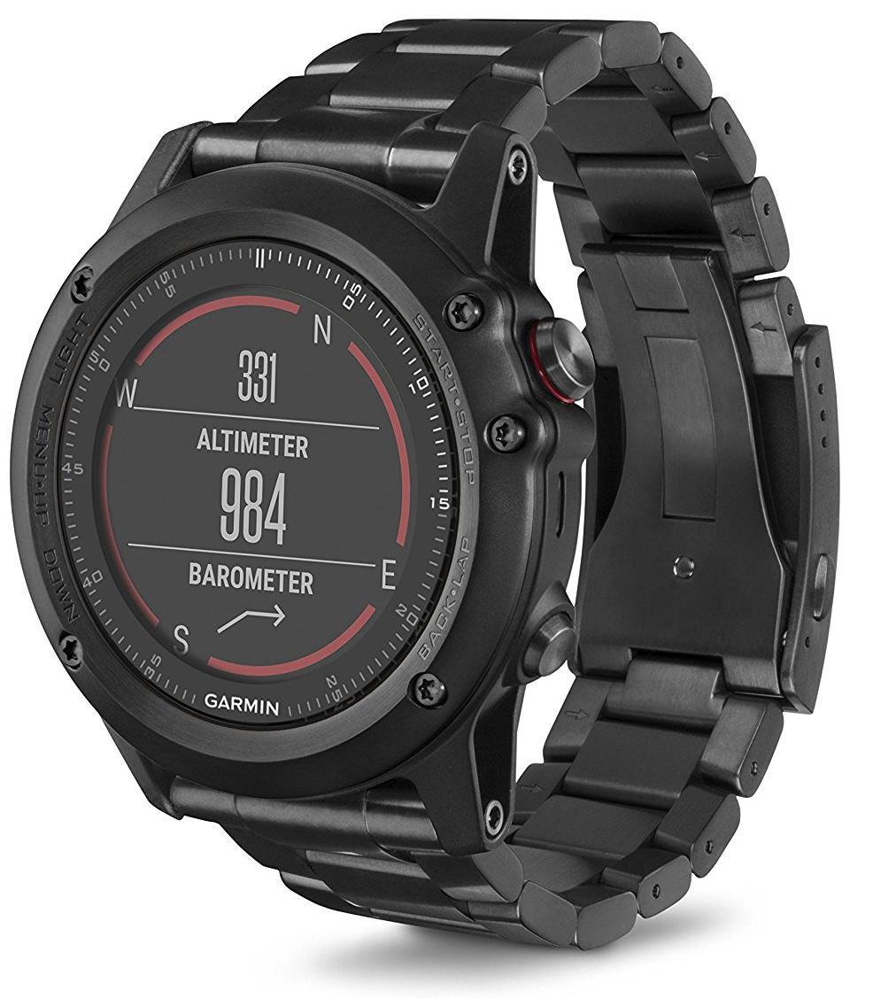 Спортивные часы Garmin Fenix 3 HR 010-01338-7D (Sapphire/Titanium)