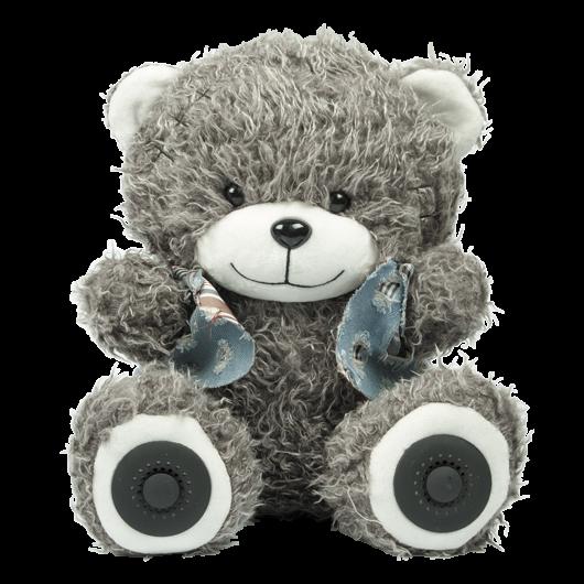 Аудиосистема - игрушка RITMIX ST-250 Bear BT Grey