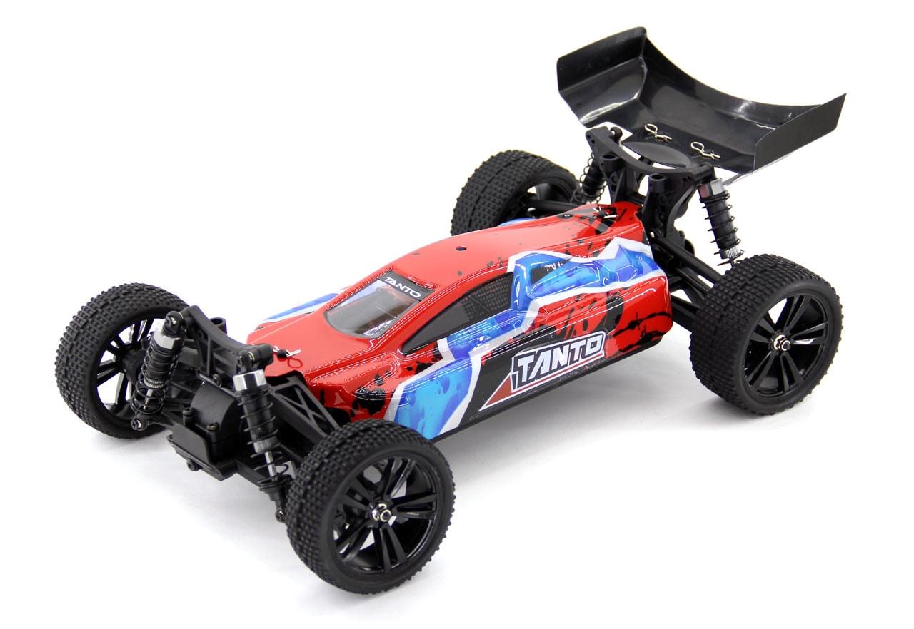 Iron Track Радиоуправляемая машина Багги 1/10 4WD Электро - Iron Track Tanto RTR, Влагозащита, Аккумулятор, З/У