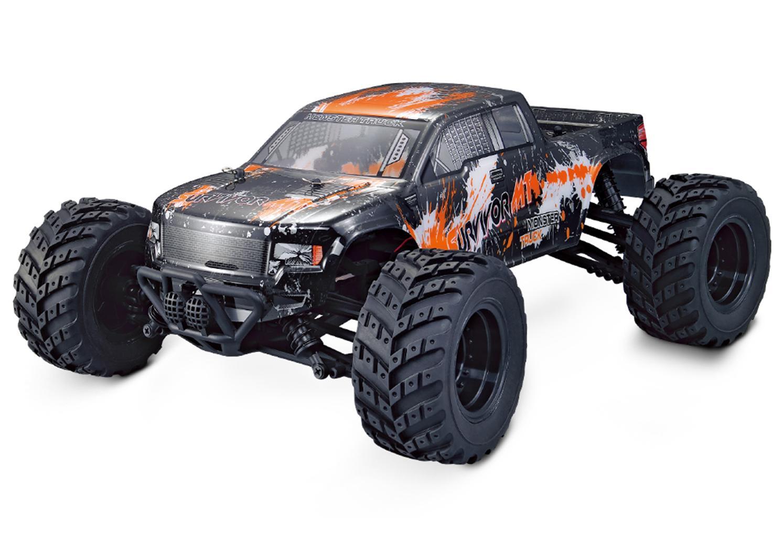 Монстр трак 1/12 4WD Электро - Survivor MT (1500мАч LiIon, метал дифференциалы, влагозащита, синий или зеленый)