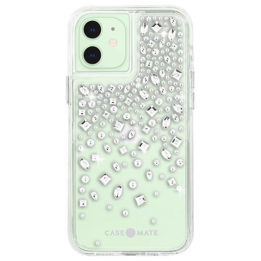 Чехол-накладка Case-Mate Karat Crystal для iPhone 12, покрытый антимикробным материалом Micropel. Материал: поликарбонат, ТПУ. Отделан искусственными кристаллами. Размер изделия: 13.7 x 7 x 1.18 см. Цвет: прозрачный.