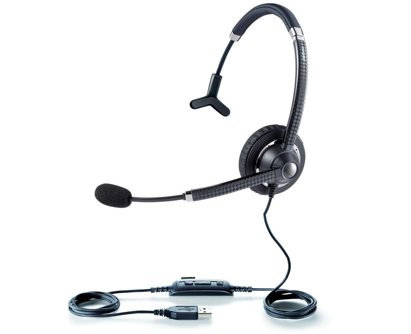 Проводная гарнитура Jabra UC Voice 750 Mono 7593-829-409 (Black)