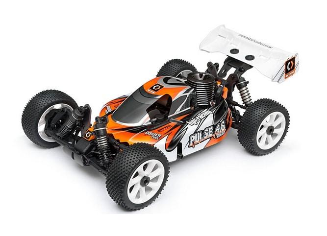 HPI Racing Радиоуправляемая машина Багги 1/8 нитро - Pulse 4.6 Buggy RTR 2.4GHz