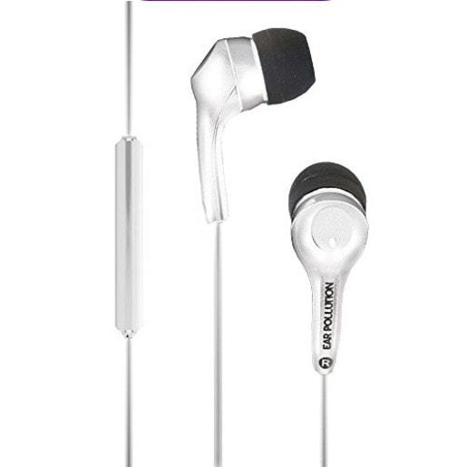 Наушники iFrogz Bolt Plus с микрофоном вставные. Цвет белый.