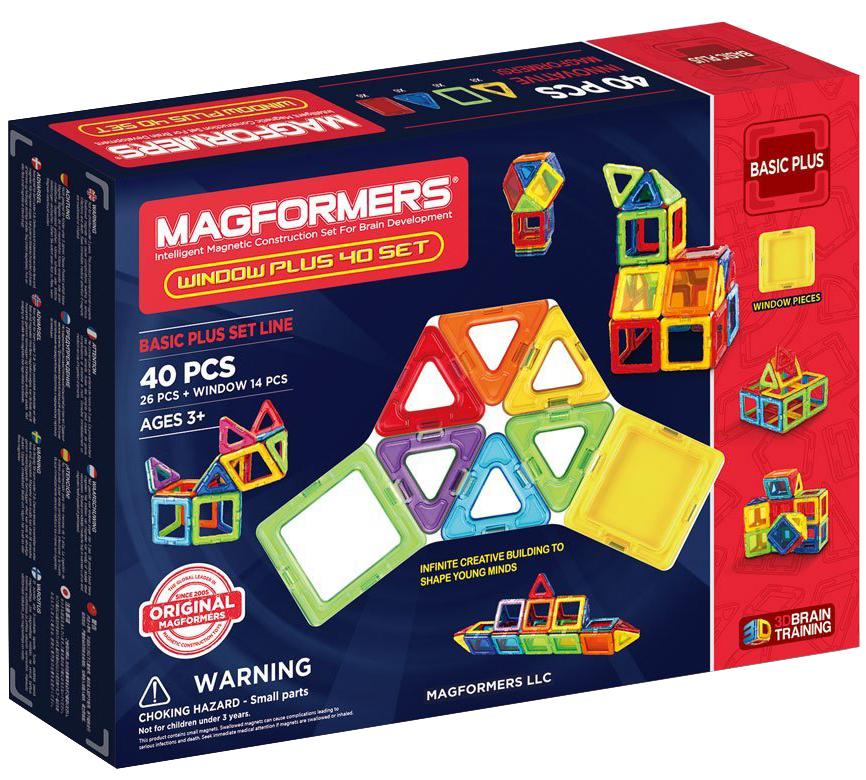 Магнитный конструктор Magformers Window Plus 40 (715002)
