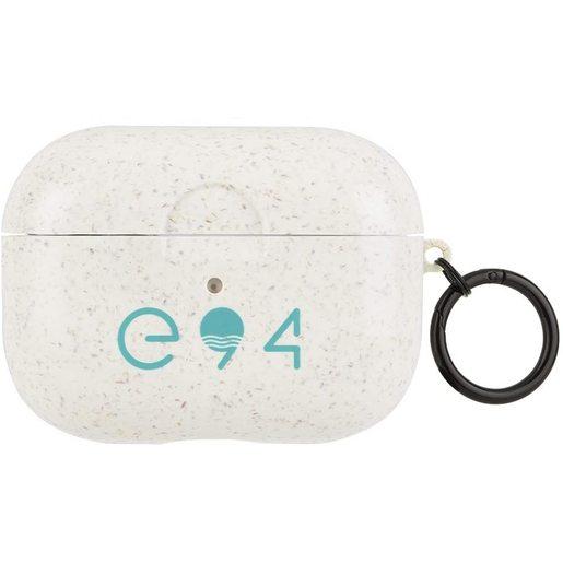 Чехол Case-Mate Biodegradable ECO 94 Case для AirPods Pro с черным кольцом-карабином. Материал: ТПУ растительного происхождения. Размер изделия: 5 x 6.2 x 2.4 см. Дизайн: Natural.