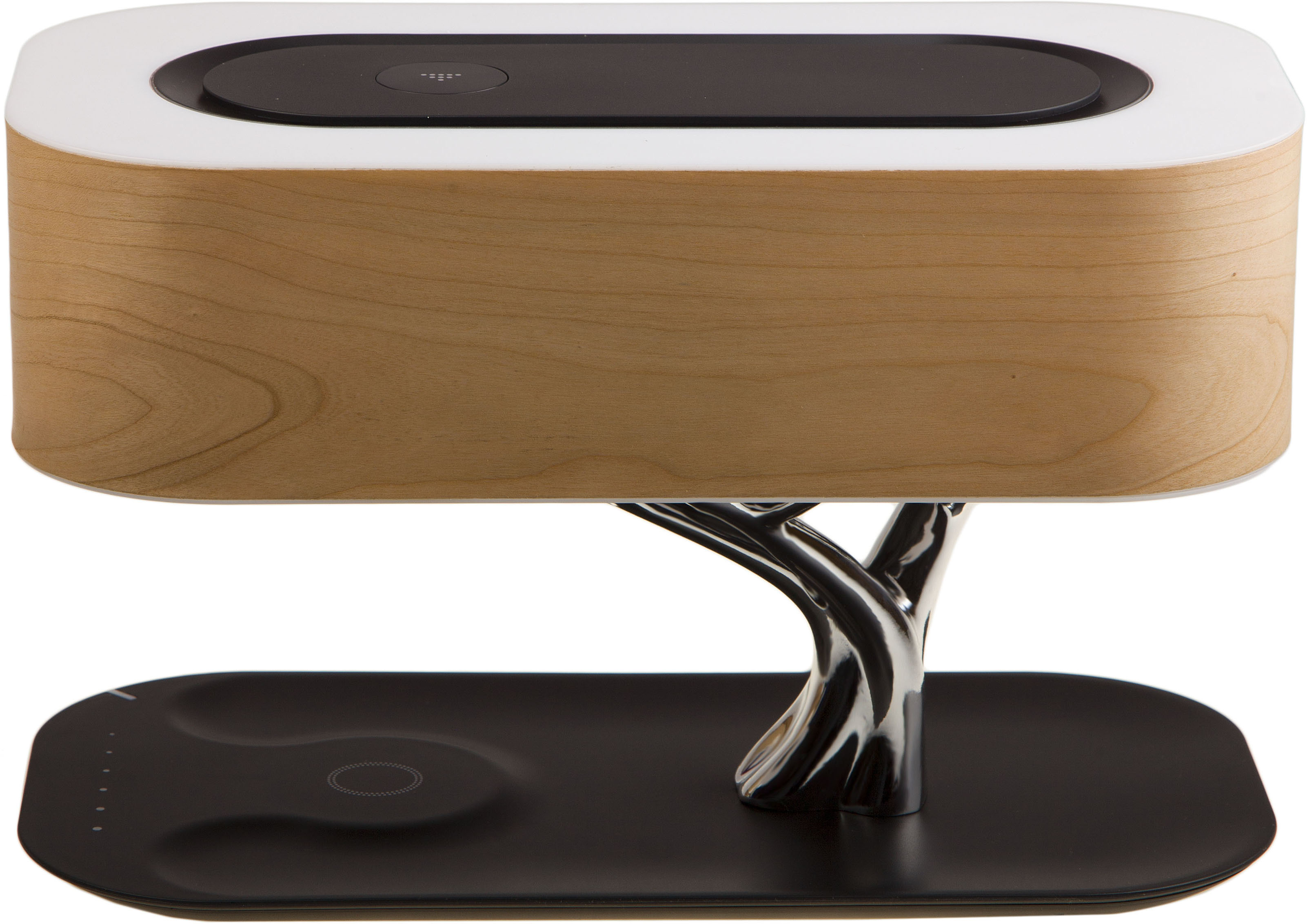 Умный светильник HomeTree Light Of the Tree Special Edition (YT-M1602-B2Sy) с беспроводной зарядкой и колонкой (Light Brown)