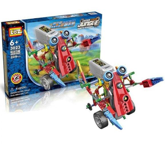 Конструктор-робот «Джангл», арт.3023, 209 деталей