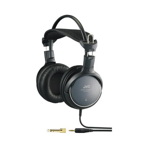 Наушники JVC полноразмерные комфортные, модель HA-RX700-E. Цвет: черный