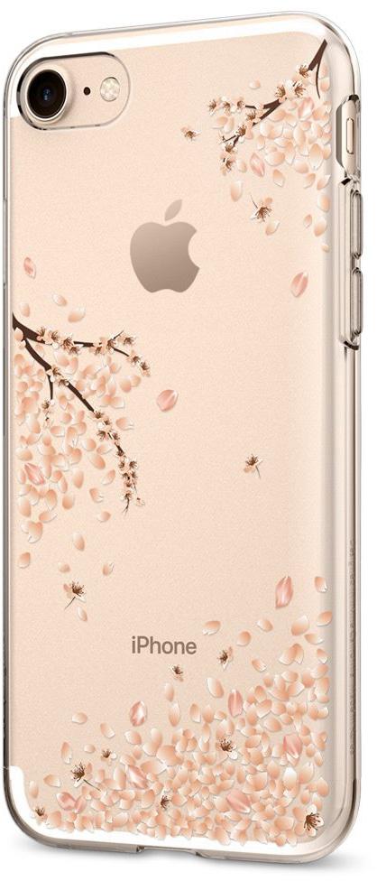 Spigen Liquid Crystal Shine (042CS21220) - чехол для iPhone 7 (Blossom)