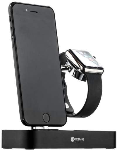 Док-станция COTEetCI Base Hub CS7200-BK для Apple Watch/iPhone (Black)