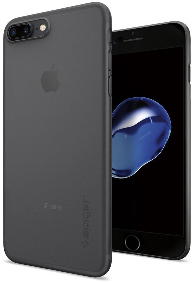 Spigen Air Skin (043CS20870) - чехол-накладка для iPhone 7 Plus (Black)