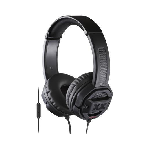 Наушники JVC накладные, модель HA-SR50X-E, серия XX. Цвет: черный JVC Наушники накладные, модель HA-SR50X-E, серия XX. Цвет: черный